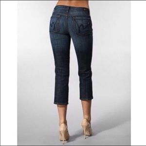 Citizens of Humanity - low waist cropped size 28